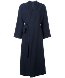 Joseph | Kimono-Style Wrap Coat 36 Viscose
