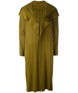 PLEATS PLEASE BY ISSEY MIYAKE | Long Pleated Coat