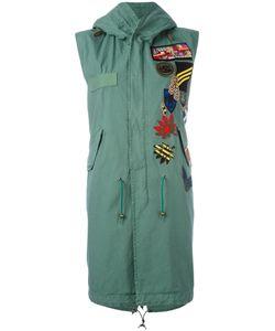 MR & MRS Italy | Sleeveless Parka Coat Xxs
