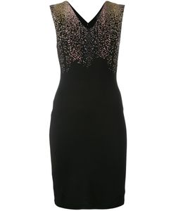 Just Cavalli | Studded Shoulder V-Neck Dress Size 38