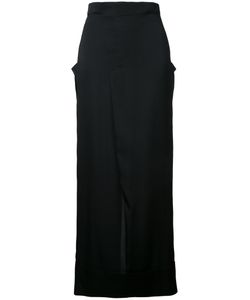 Rito   Straight Midi Skirt Size 36 Silk/Polyurethane