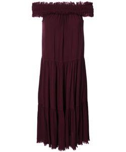 Raquel Allegra | Длинное Платье С Открытыми Плечами