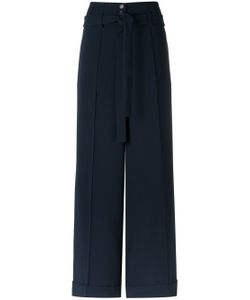 GLORIA COELHO | Wide Leg Trousers