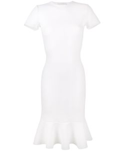ESTEBAN CORTAZAR | Peace Sign Exposed-Back Dress