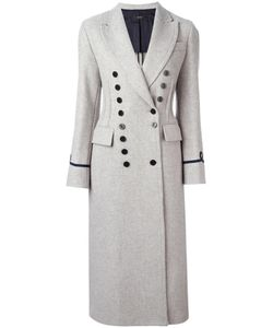Joseph | Double Breasted Coat 40 Wool/Polyamide/Viscose/Polyamide