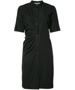 Nellie Partow | Band Collar Dress 8 Cotton