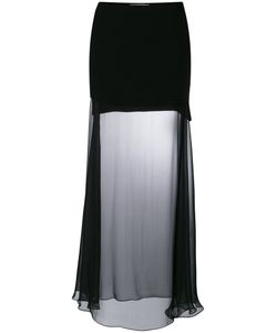 Givenchy | Прозрачная Длинная Юбка