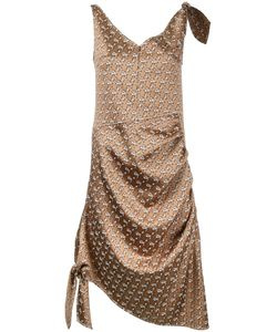 Irene | Jacquard Knot Detail Dress