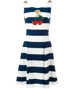 Dolce & Gabbana | Cherry Patch Striped Dress 44