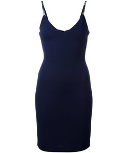 Dsquared2 | Deep V-Neck Fitted Dress Small Polyamide/Spandex/Elastane/Viscose