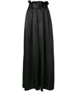 G.V.G.V.   Belted Palazzo Trousers 34 Rayon