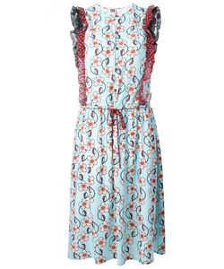 I'm Isola Marras | Print Drawstring Dress 44