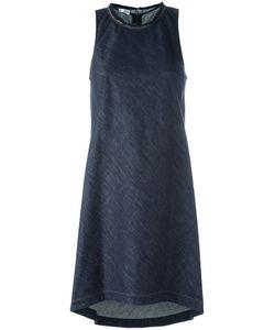 Brunello Cucinelli | Frayed Neck Dress