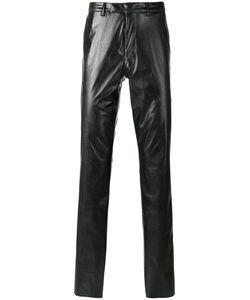 Raf Simons | Straight-Leg Trousers 46 Polyester/Polyurethane/Cotton
