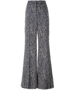 SportMax | High-Rise Striped Trousers 44 Viscose/Spandex/Elastane