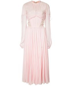 J. Mendel | Chiffon Pleated Dress