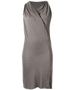 Rick Owens Lilies   Приталенное Платье С Драпировкой