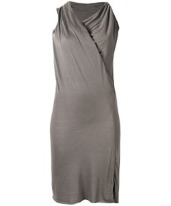 Rick Owens Lilies | Draped Neck Fitted Dress