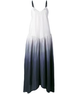 Twin-set | Платье Без Рукавов С Эффектом Омбре