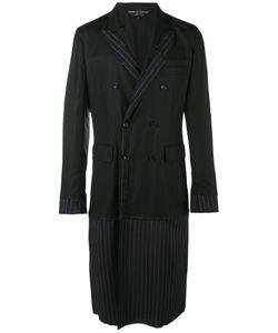 COMME DES GARCONS HOMME PLUS | Comme Des Garçons Homme Plus Stripe Overcoat Size Small