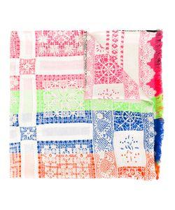 PIERRE-LOUIS MASCIA | Lace Detail Scarf Silk
