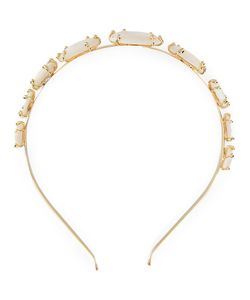 Rosantica | Headband 24kt Plated Metal/Pearls