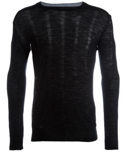Ann Demeulemeester | Round Neck Jumper Large Wool