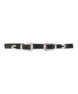 B-Low The Belt | Double Buckle Belt