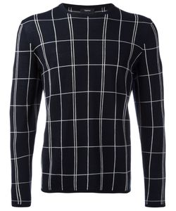 Theory | Grid Knit Jumper Size Large