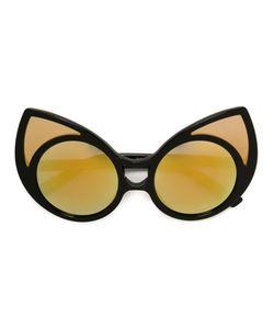 Linda Farrow | Солнцезащитные Очки С Оправой Кошачий Глаз