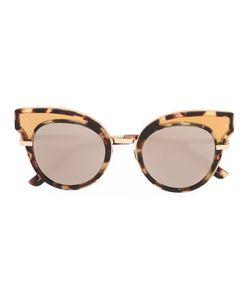Bottega Veneta Eyewear | Round Frame Embellished Sunglasses