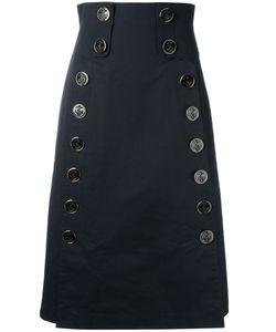 Dolce & Gabbana | High Waisted Skirt 40 Cotton