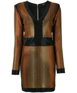 Balmain | Stone Encrusted Fitted Dress Size