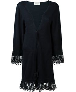 ANTONIA ZANDER | Drawstring Cardi-Coat Small Cotton/Polypropylene/Cashmere