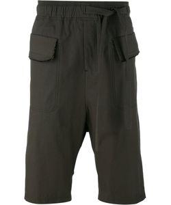 Damir Doma | Flap Pockets Drawstring Shorts Small Cotton/Polyamide