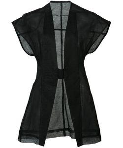Rick Owens | Carapace Jacket 44 Silk/Linen/Flax