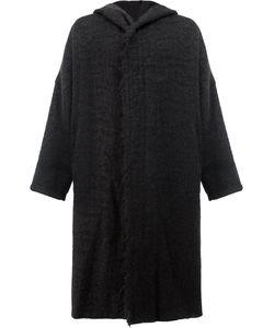 UMA WANG | Пальто С Капюшоном Свободного Кроя