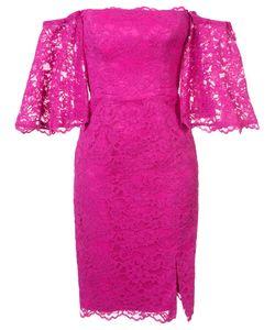 Nicole Miller | Платье С Цветочной Вышивкой