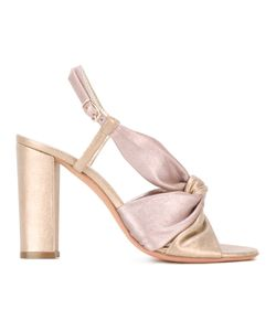 Jean-Michel Cazabat | Olbia Sandals Womens Size 37 Patent Leather/Leather