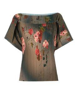 Antonio Marras | Print Blouse Womens Size 42 Polyester/Spandex/Elastane/Acetate/Viscose