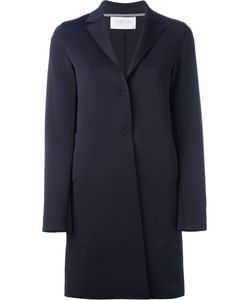 Harris Wharf London | Single Breasted Coat 42 Polyamide/Spandex/Elastane