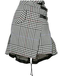 Sacai | Houndstooth Check Skirt 2