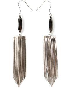 IOSSELLIANI | Metal Instinct Fringed Earrings