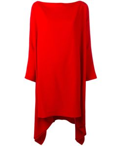 Gianluca Capannolo | Draped Oversized Dress 40 Acetate/Viscose