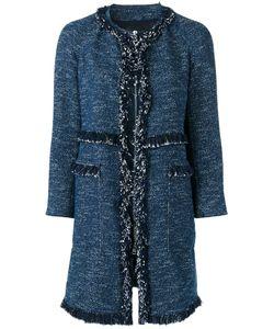 Theory | Oversized Tweed Coat Medium Cotton/Polyester/Viscose/Polyurethane