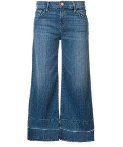 J Brand | Wide-Legged Cropped Jeans