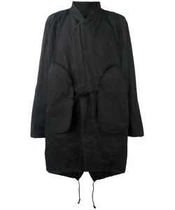 ABASI ROSBOROUGH | Tie-Front Oversize Coat Size Small