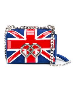 Dsquared2 | Mini Union Jack Bag Patent Leather/Suede/Metal Other