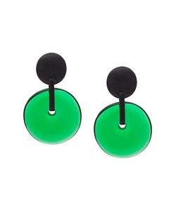 MONIES | Linked Disc Clip On Earrings