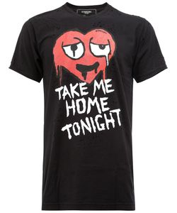 DOM REBEL | Take Me Home Tonight T-Shirt Medium